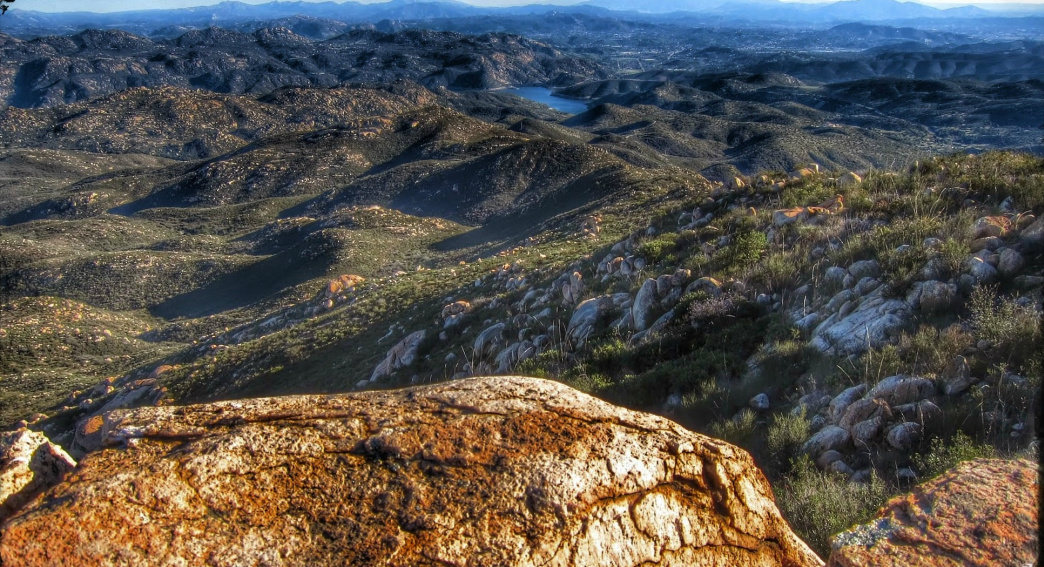 Looking southeast from Iron Mountain Peak.