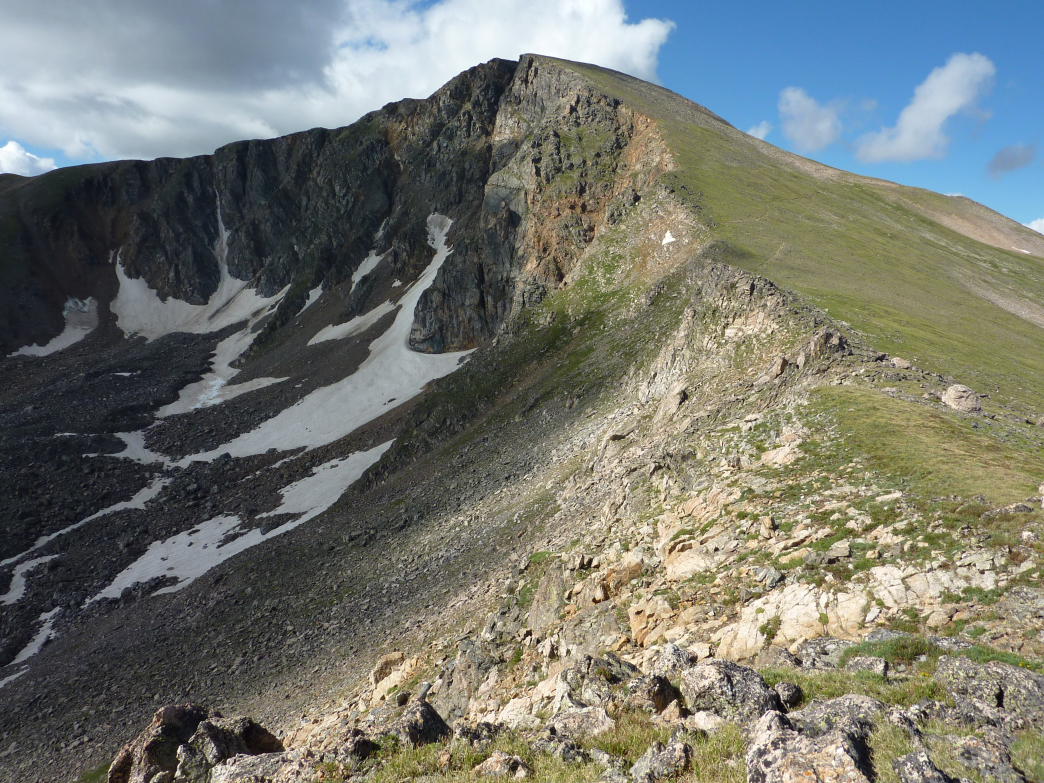 James Peak is near Denver and a pretty easy hike as far as 13ers go.