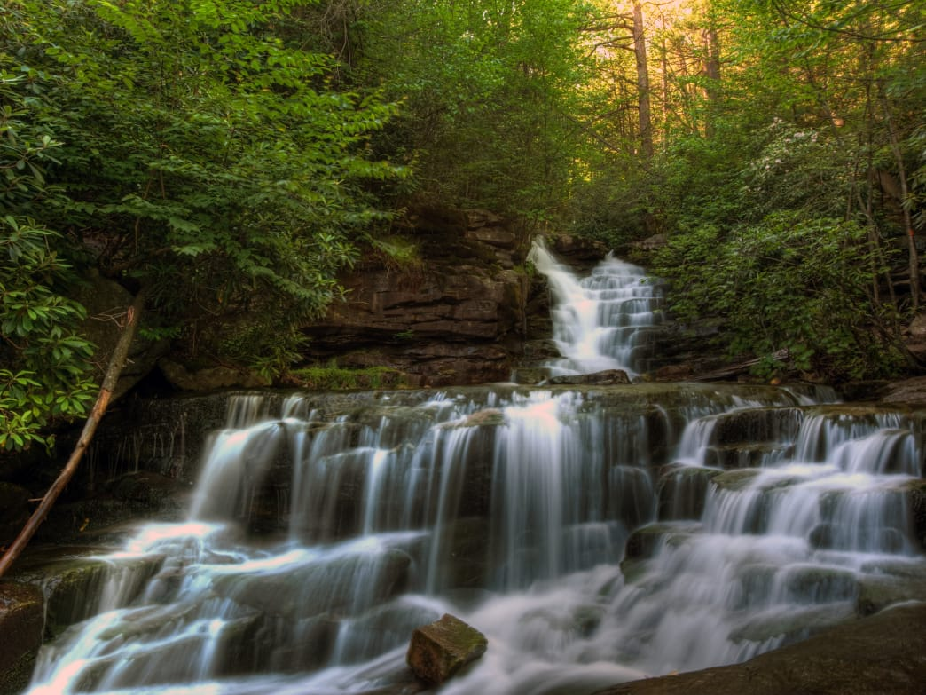 There are a multitude of waterfalls to find and enjoy in the Poconos.