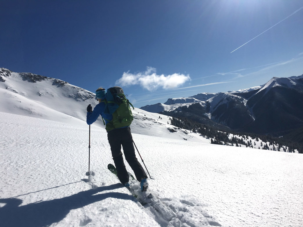 Backcountry skiing in Colorado answers a call to the wild.