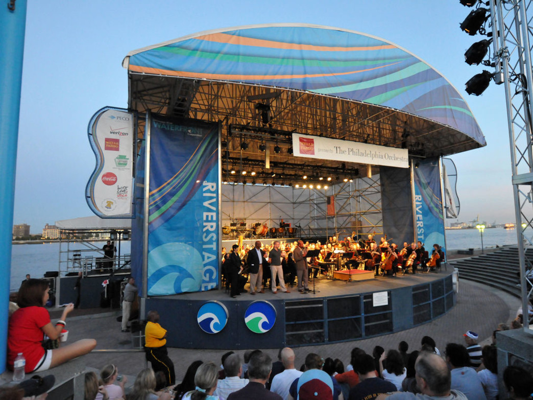 The Philadelphia Orchestra performs on July 2 at the River Stage at Penn's Landing.