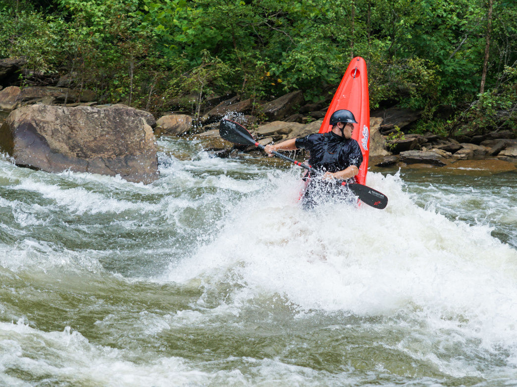 Whitewater paddling on the Ocoee River is a thrilling option not far from Chattanooga.