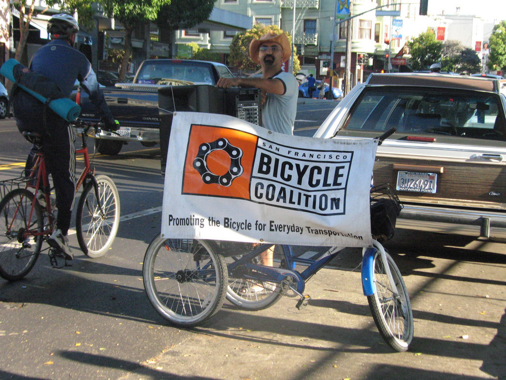 Spread some good cycling karma by volunteering with the SFBC.