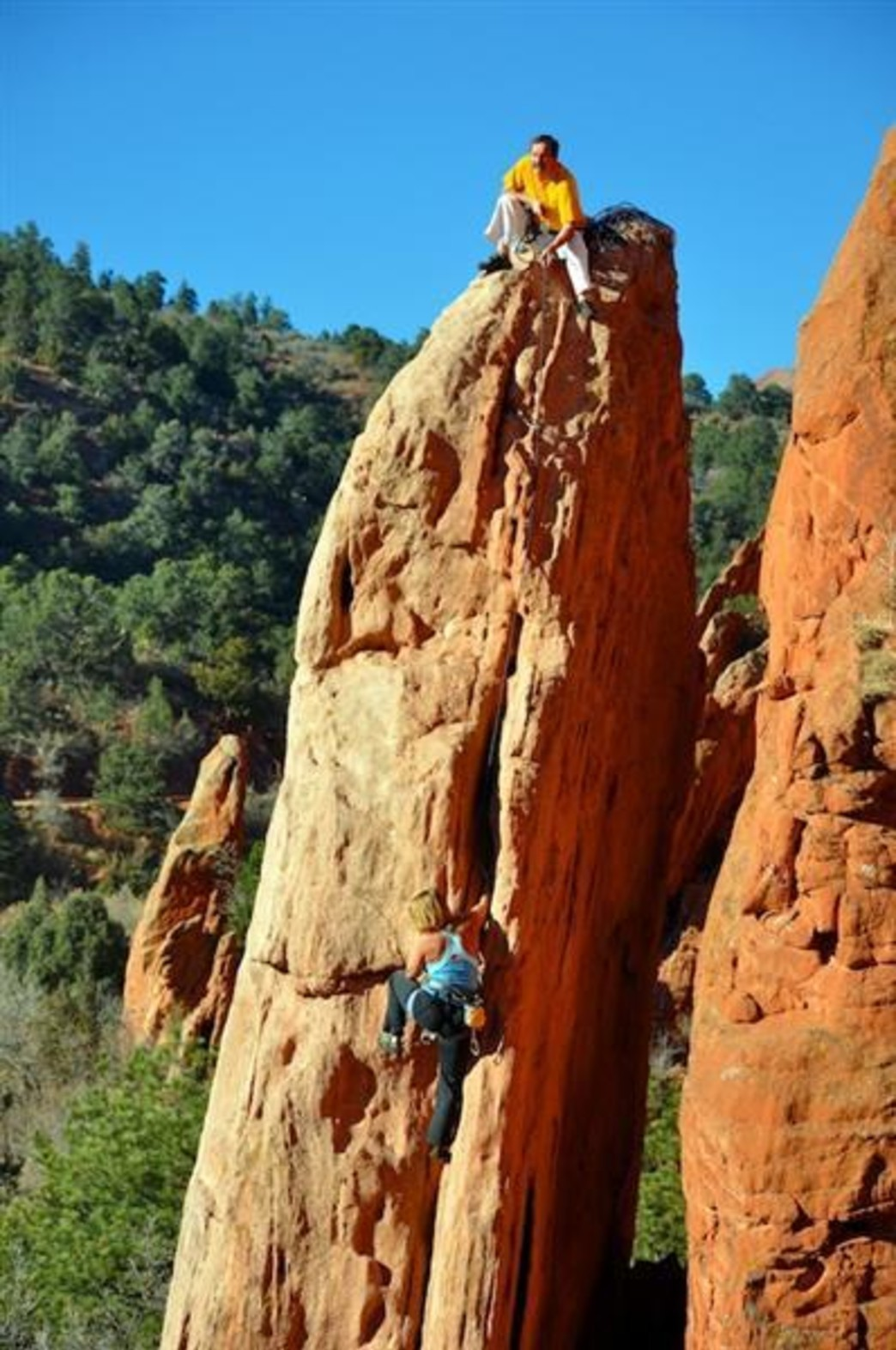 Garden of the Gods Climbing