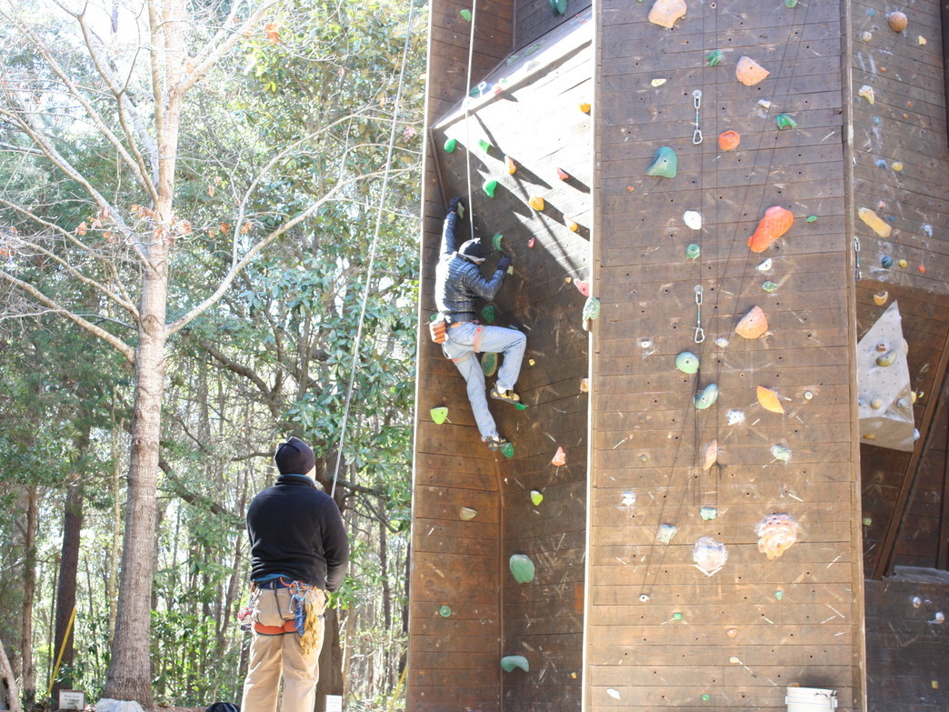 James Island County Park Wall Climbing