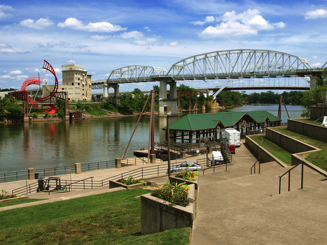 Riverfront Park in Nashville