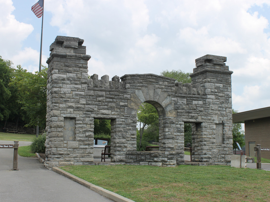 Fort Negley in Nashville, TN